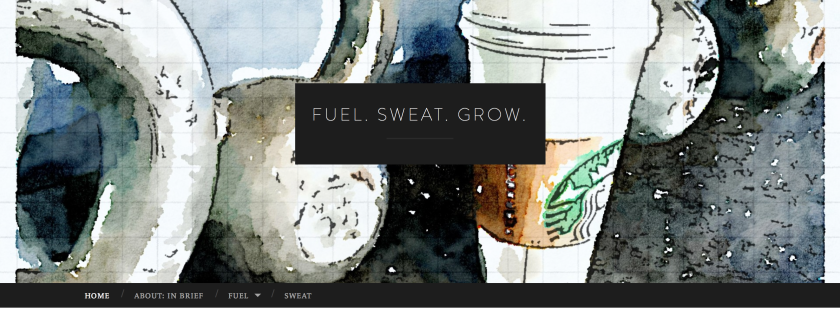fuel sweat grow: blog image