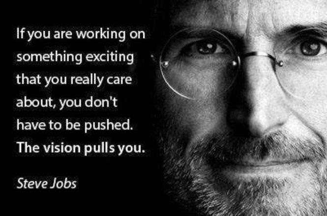 steve jobs: love what you do